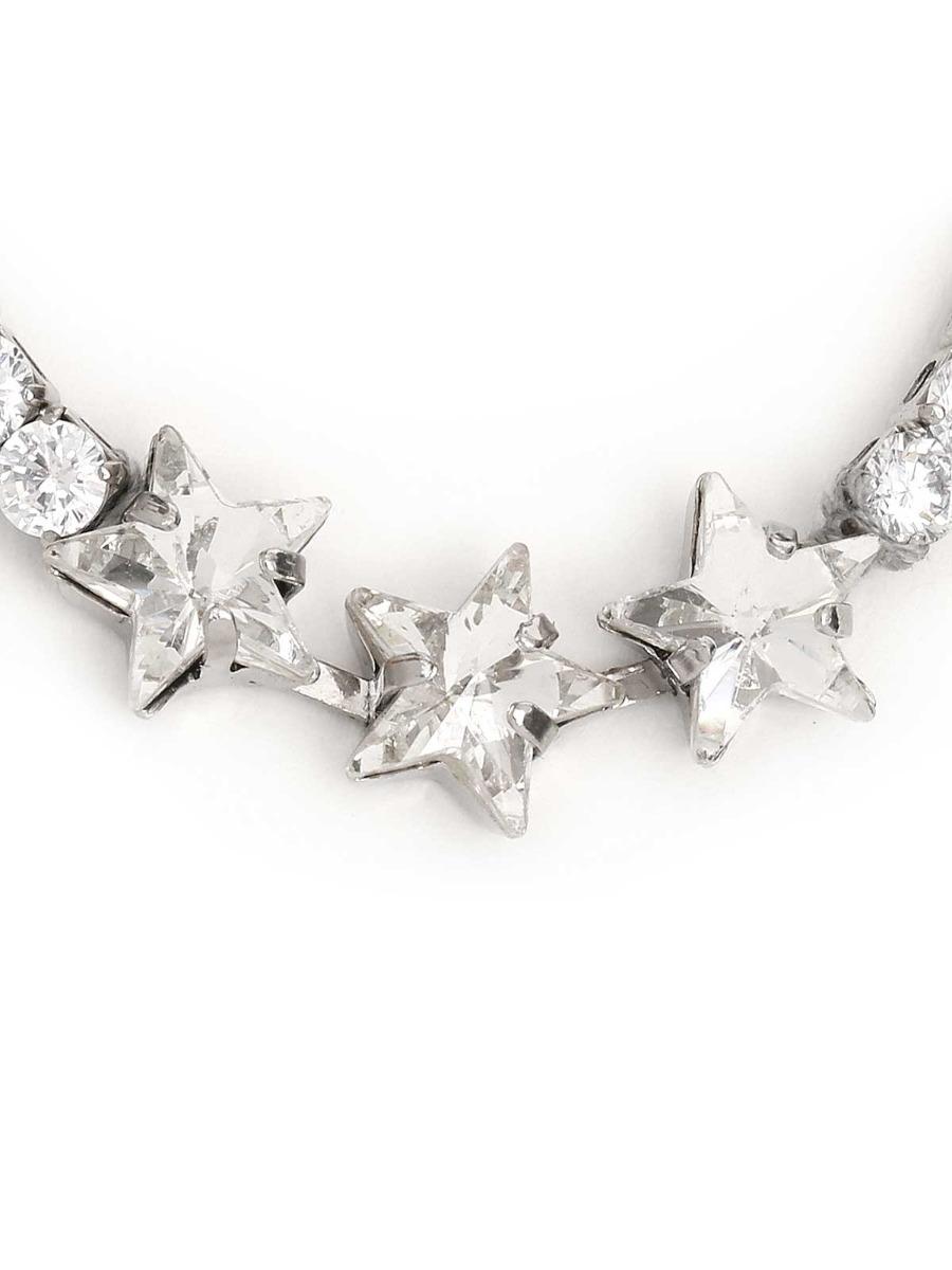 Bracciale con cristalli e stelle