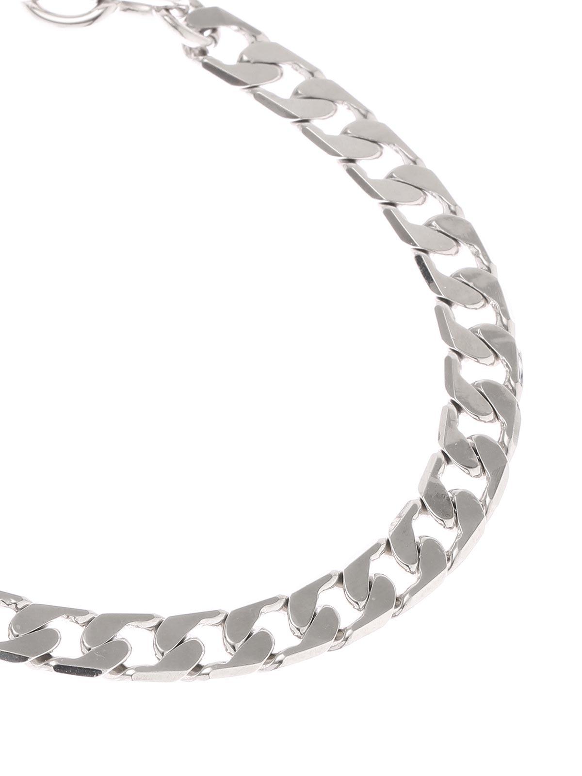 Brass chain anklet