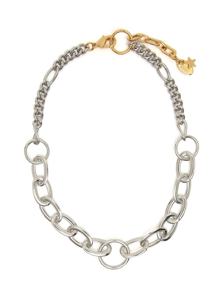 Brass chain necklace