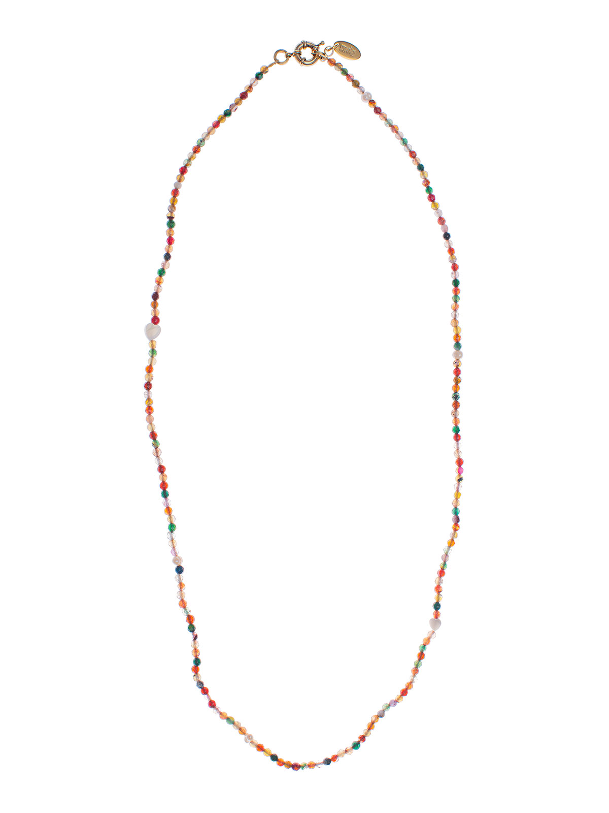 Collana perline giada