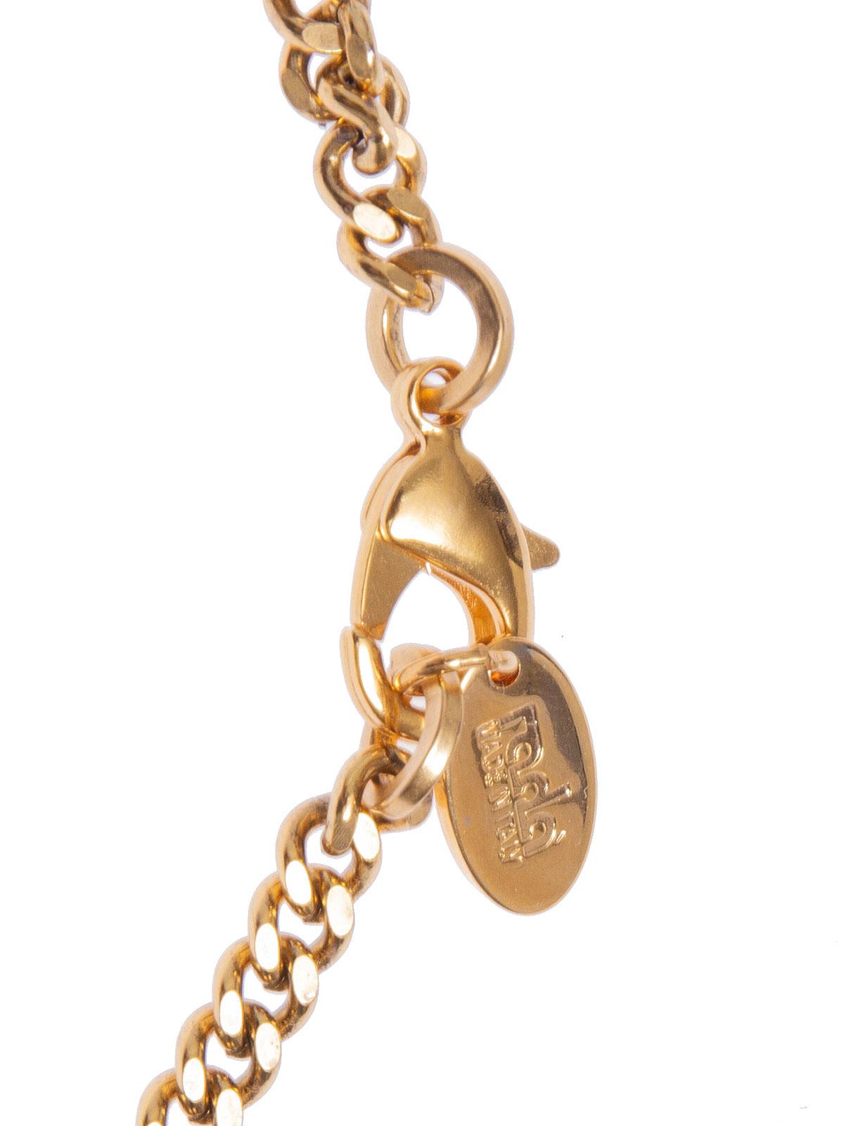 Collana catena con centrale gioiello