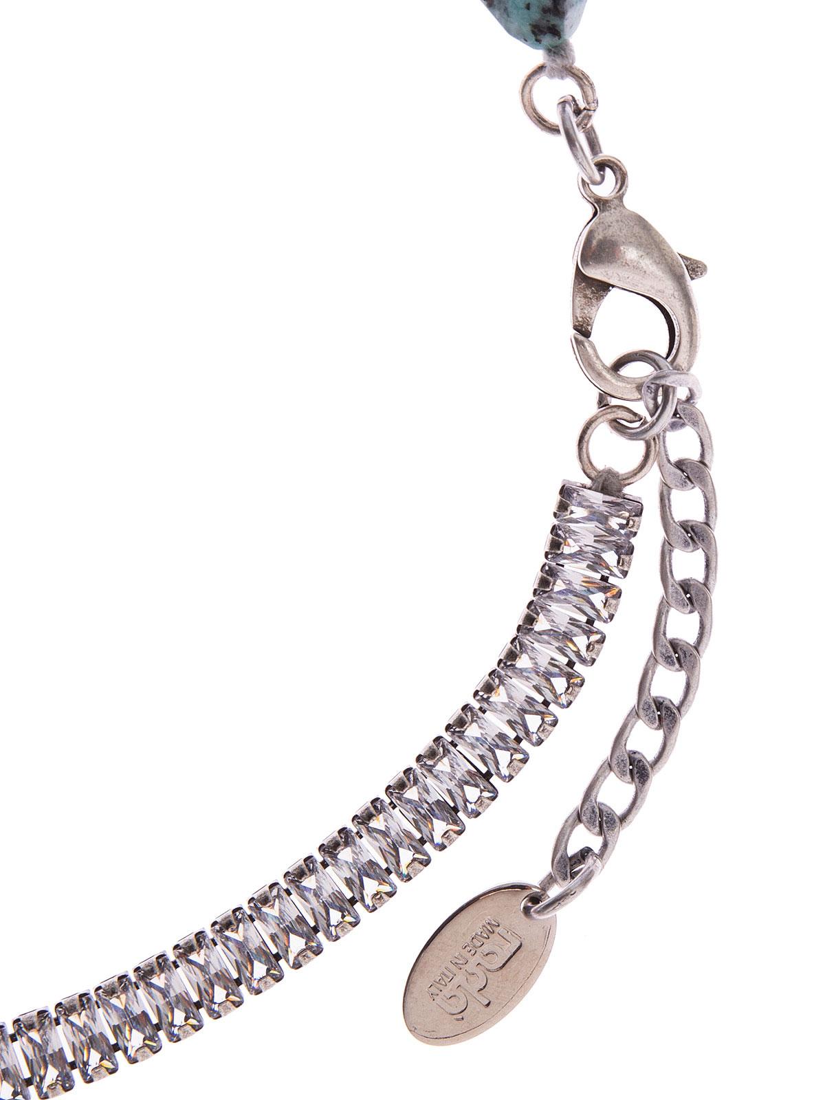 Collana con perle Labradorite