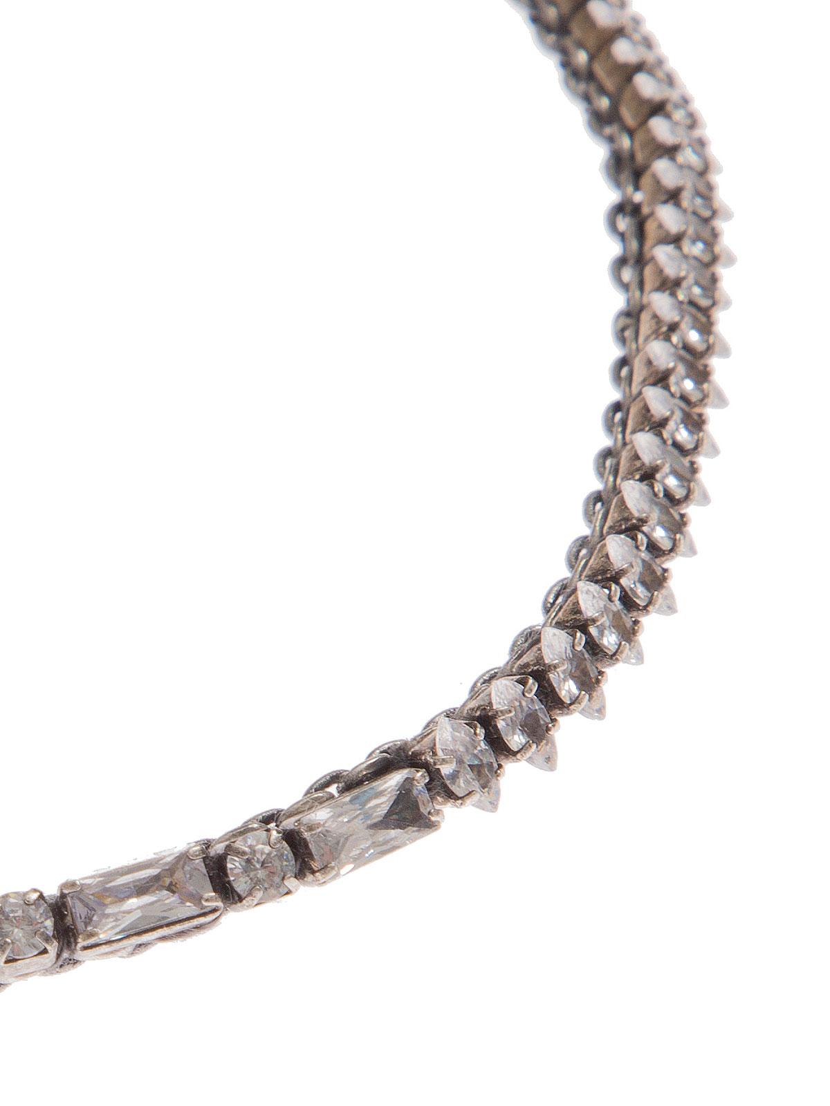 Collana stringicollo con pietre cristallo