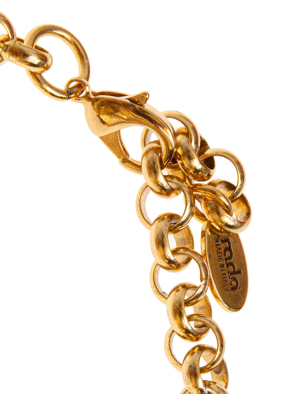 Collana di catena e combinazioni di anelle