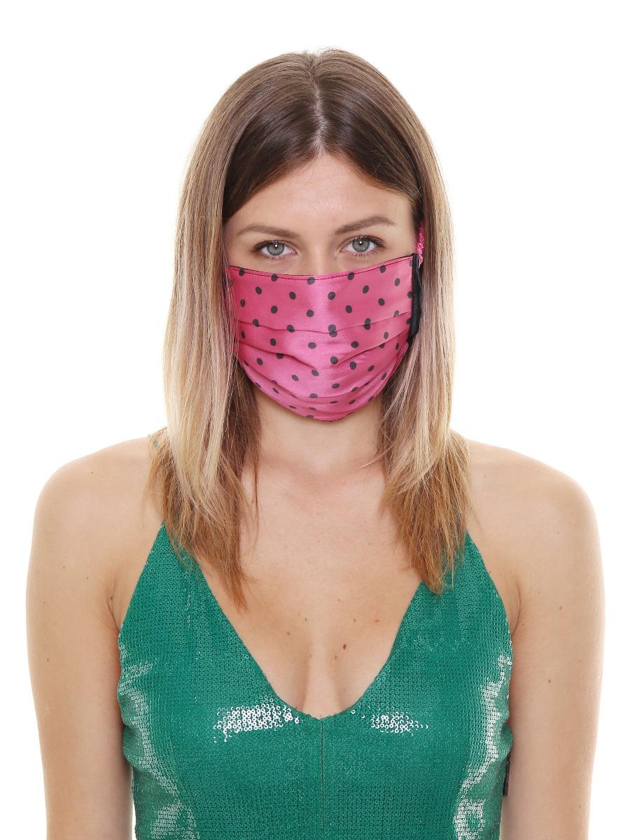 Copri mascherina in tessuto di Viscosa