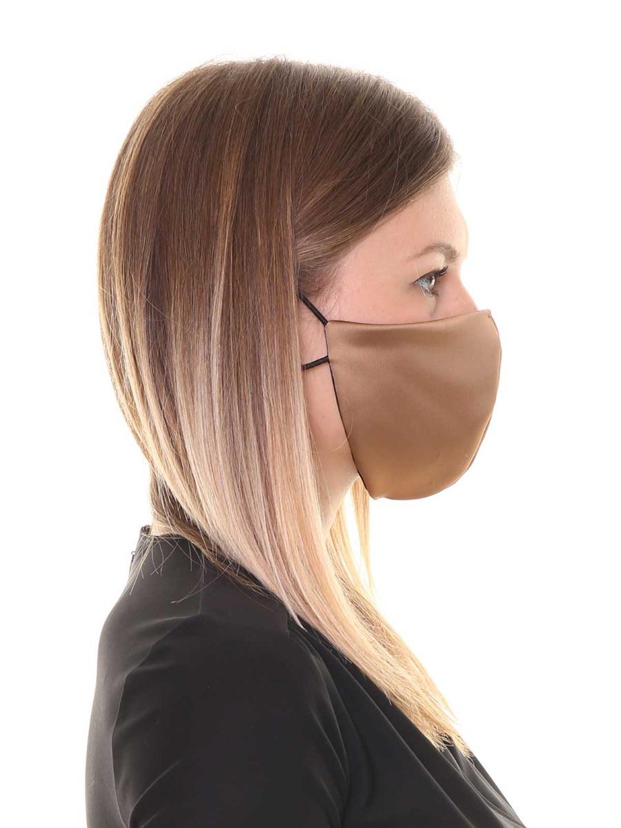 Copri mascherina in tessuto Satin