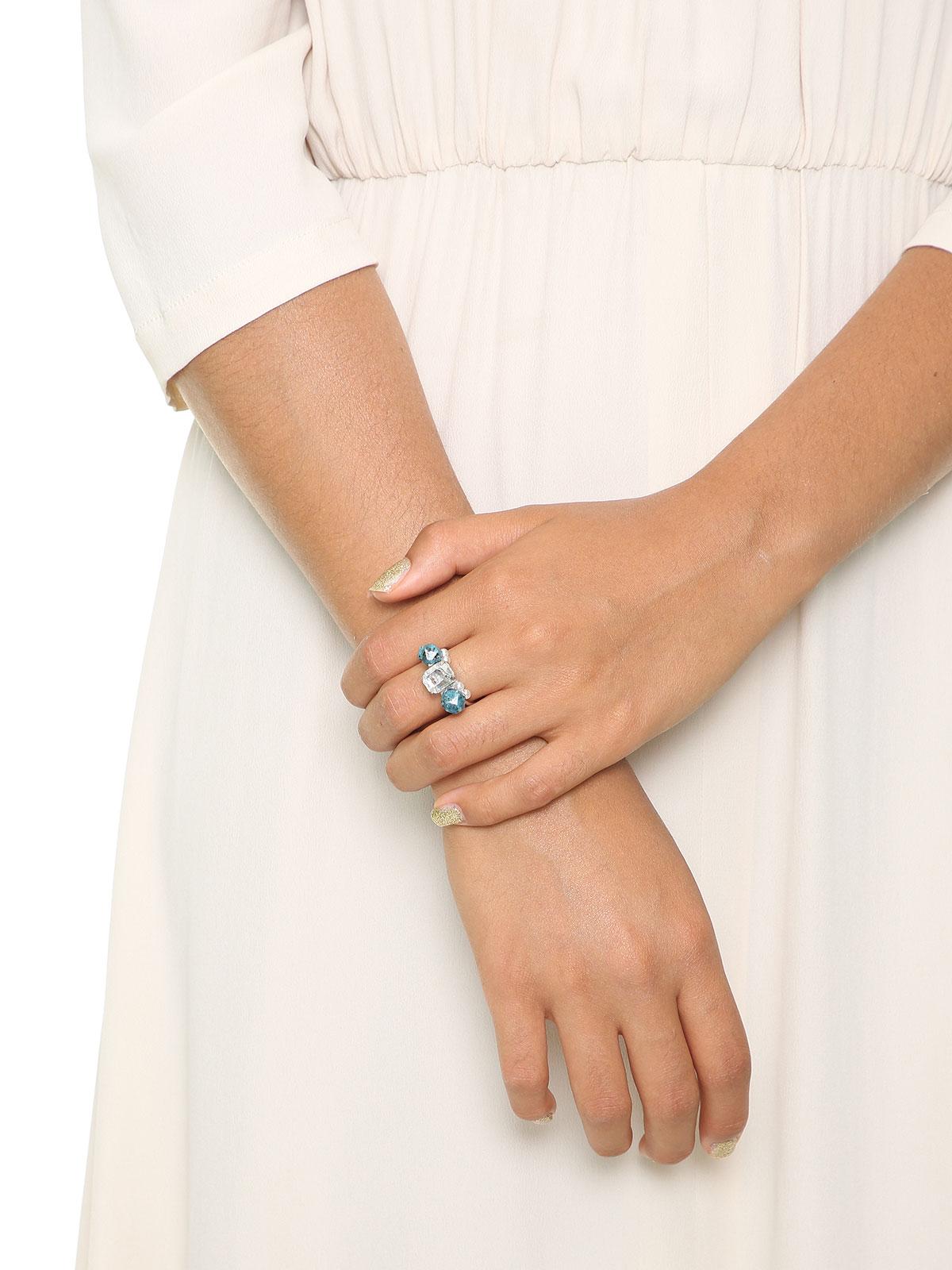 Labradorite stone ring