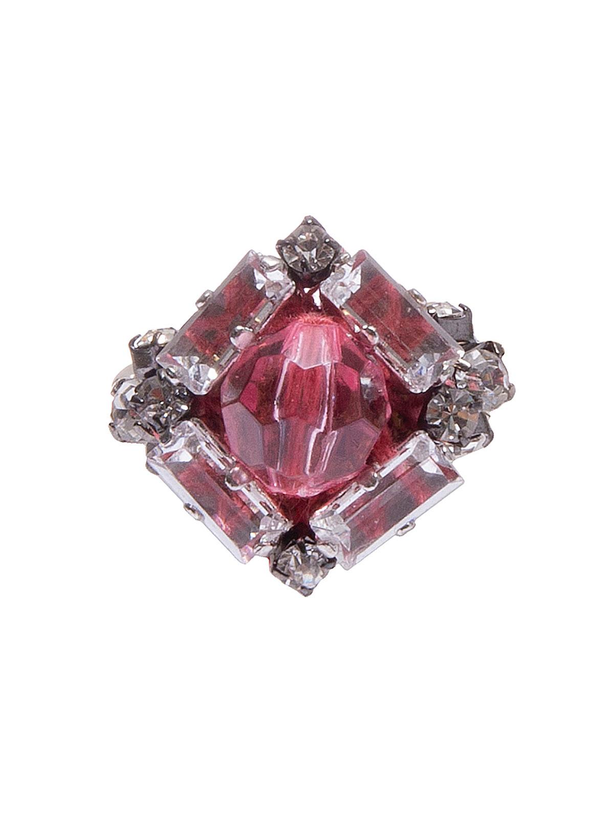 Ring with maxi plexiglass bead