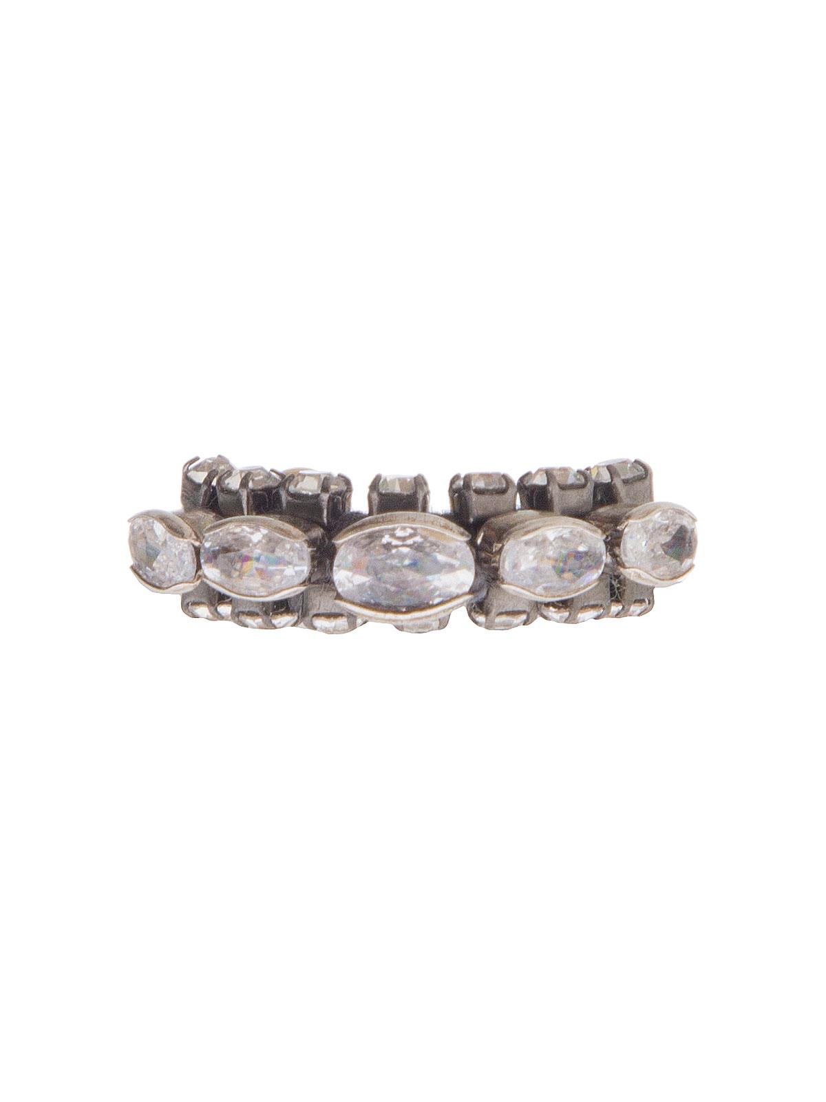 Anello con pietre ovali cristallo