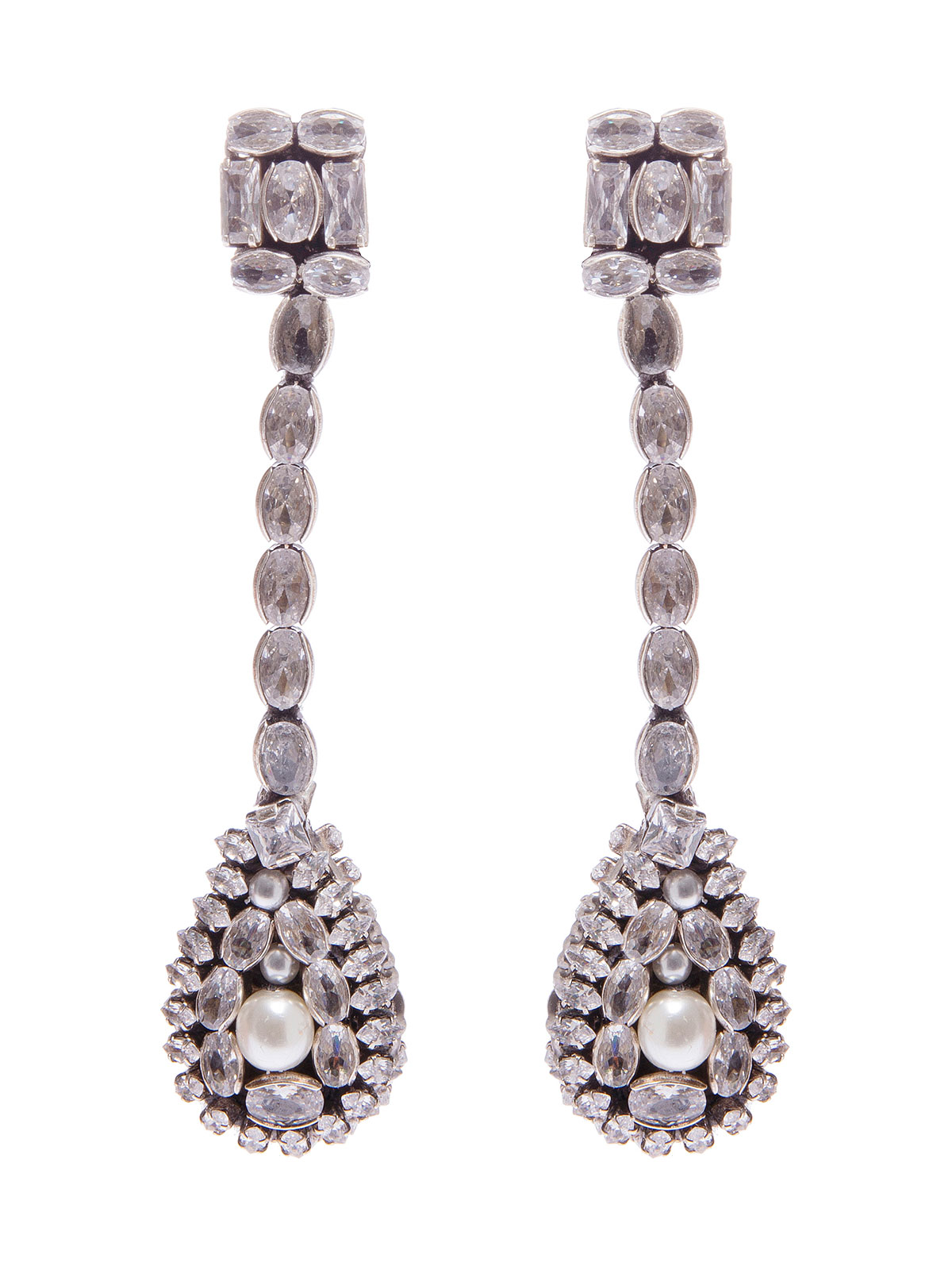 Pendent crystal  earrings