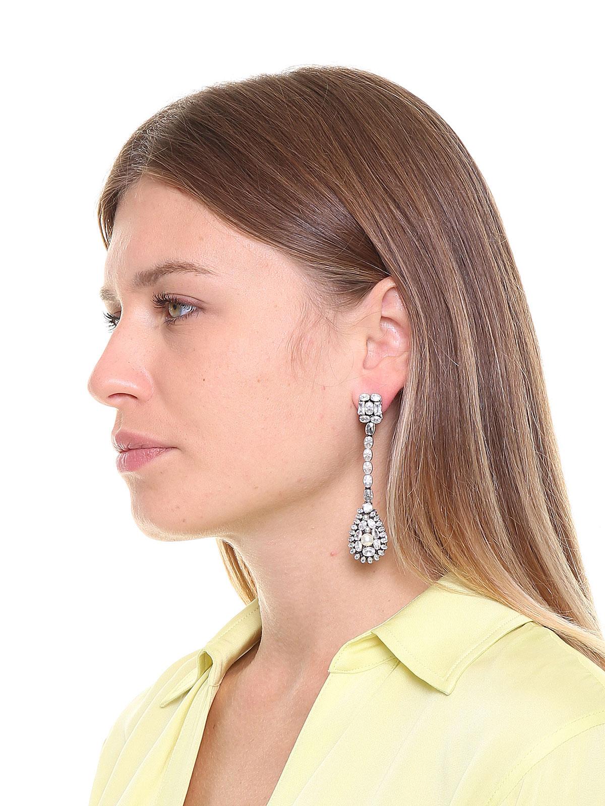 Orecchini di pietre e perle