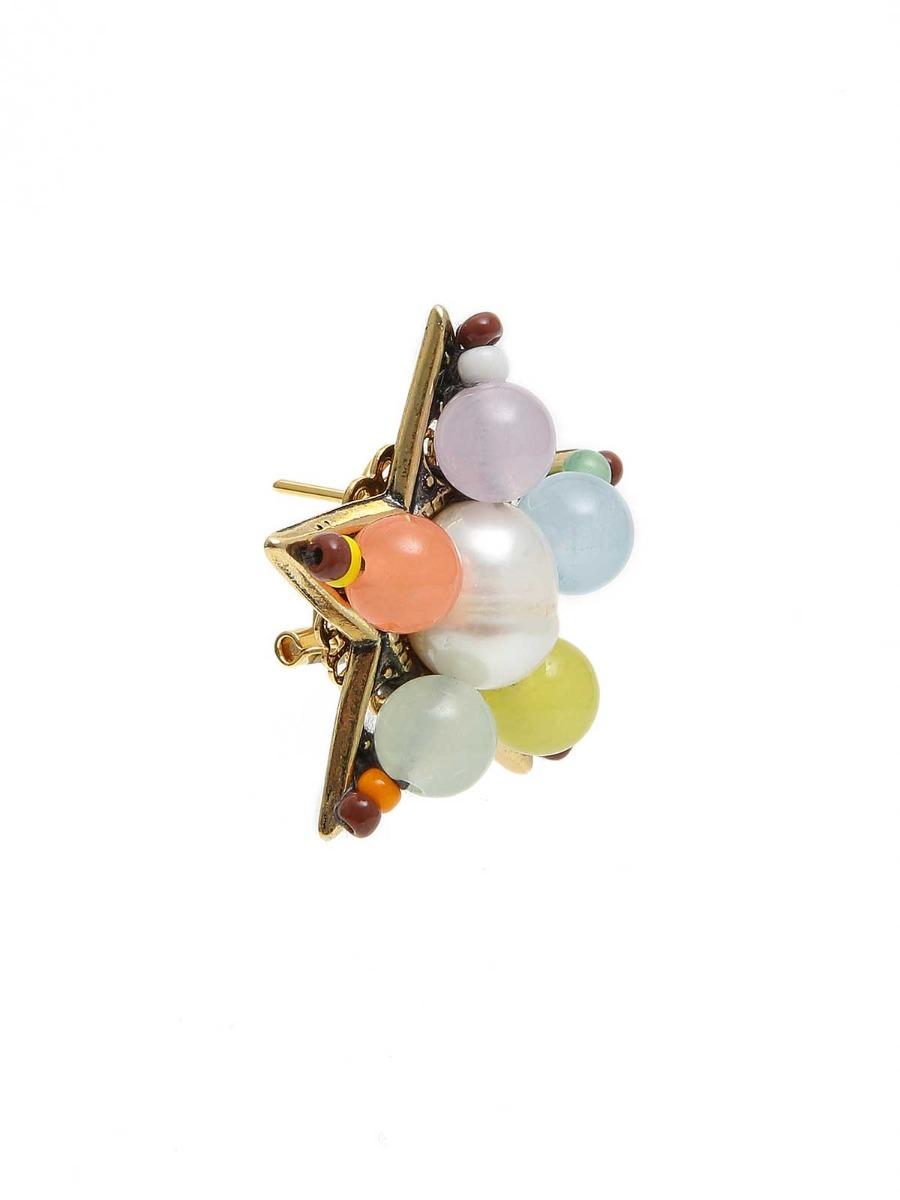 Orecchini stella multicolor
