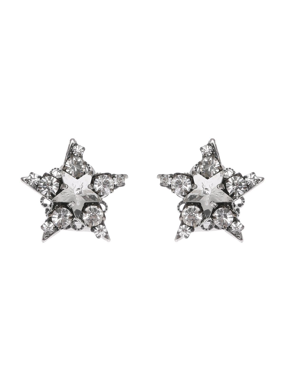 Orecchini stelle di cristalli
