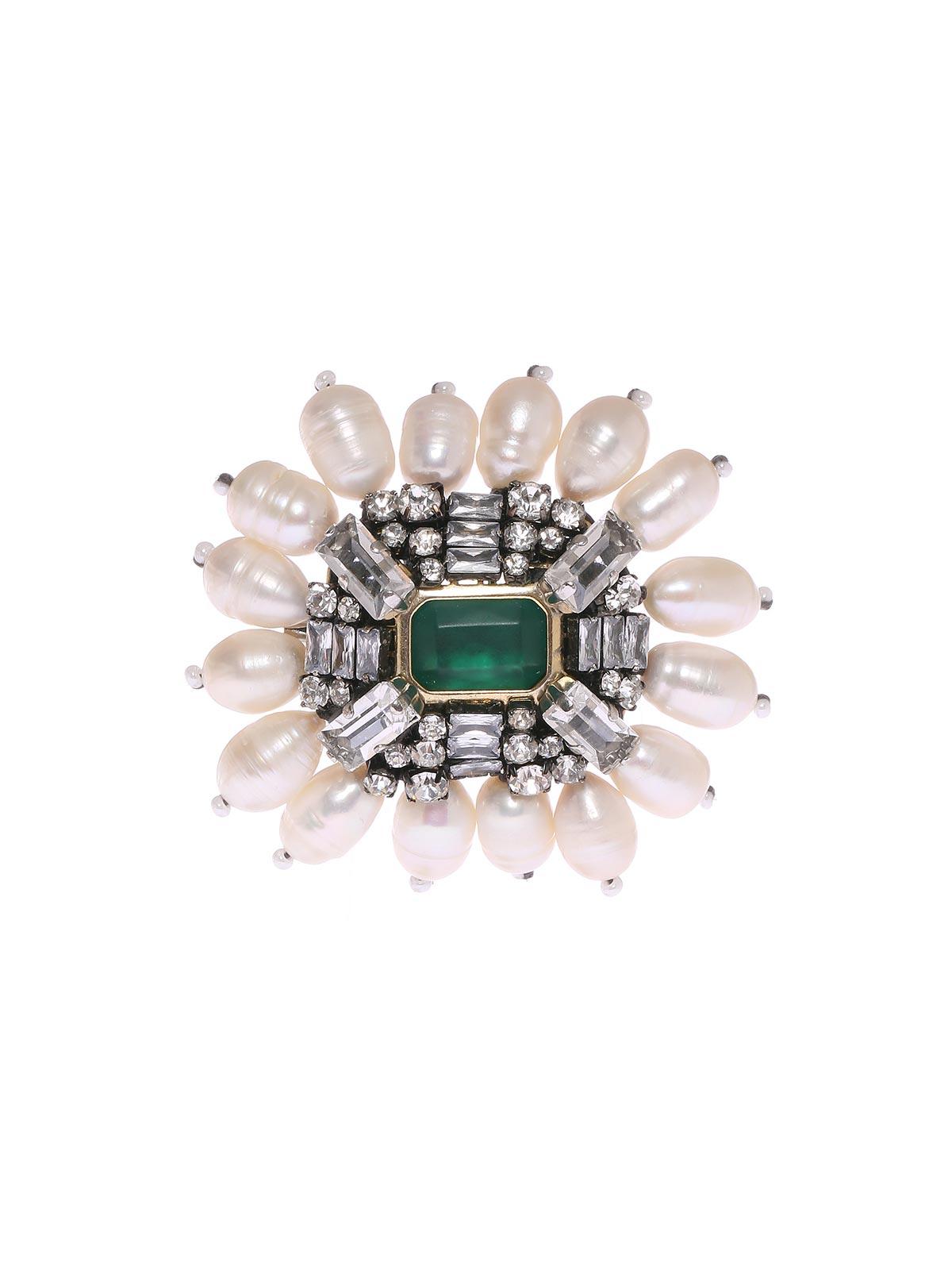 Jewel brooch